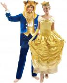 Déguisement couple La belle et la bête Disney™
