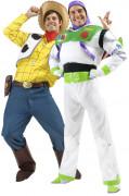 Déguisement couple Woody et Buzz l'éclair Toy story™