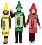 Déguisement trio Crayola enfants