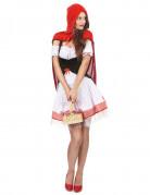 Déguisement chaperon rouge élégant femme