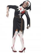 Vous aimerez aussi : Déguisement zombie religieuse femme Halloween