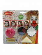 Vous aimerez aussi : Kit maquillage clown halloween