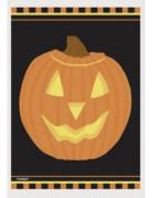 50 Sachets plastique citrouille d'Halloween 10 x 15 cm