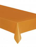 Nappe plastique orange 137 x 274 cm
