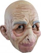 Masque vieil homme adulte Halloween 100% latex