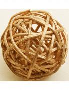 Vous aimerez aussi : 6 Boules en osier dorées 3,5 cm
