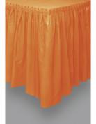 Vous aimerez aussi : Jupe de table en plastique orange 73 x 426 cm
