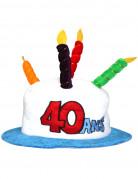 Chapeau Age 40 adulte
