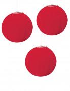 3 Lanternes rouge