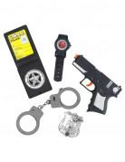 Vous aimerez aussi : Kit complet policier enfant en plastique