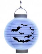 Lanterne à led chauve-souris papier Halloween
