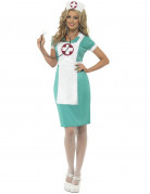 Vous aimerez aussi : Déguisement infirmière vert et blanc femme