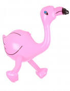 Flamant rose gonflable 60 cm
