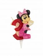 Bougie chiffre 3 Minnie™