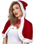 Mini cape Mère Noël adulte