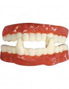 Dentier vampire en caoutchouc
