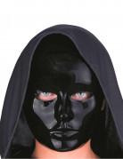 Masque visage noir adulte
