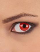 Lentilles fantaisie oeil rouge adulte