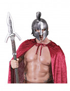 Casque gladiateur romain argent adulte
