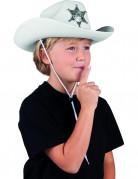 Vous aimerez aussi : Chapeau shérif blanc enfant