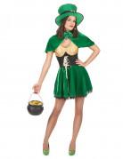 Déguisement leprechaun St Patrick femme