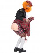 Caleçon écossais humoristique adulte