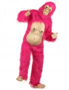Déguisement gorille rose et latex adulte