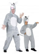 Déguisement de couple ânes père et fils