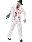 Déguisement gangster blanc zombie homme Halloween