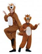 Déguisement de couple renard mère et fils