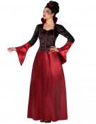 Vous aimerez aussi : Déguisement vampire rouge et noire femme Halloween
