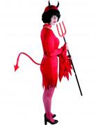 Queue diable rouge adulte Halloween