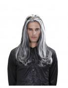 Perruque longue vampire bicolore adulte Halloween
