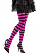 Vous aimerez aussi : Collants rayés noir et rose adulte