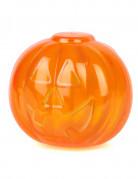 Boite en plastique citrouille orange 5 x 5 cm
