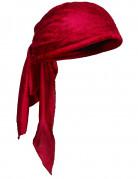 Bandana rouge adulte