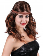 Perruque rousse indienne femme