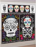 5 Décorations murales Dia de los Muertos