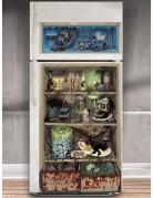 Décoration de frigo zombie