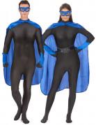Kit super héros bleu adulte