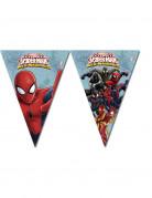 Guirlande à fanions Spiderman Web-Warriors™ 2.60 m