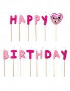 Bougies Happy Birthday Minnie™