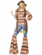 Déguisement hippie harmonie femme
