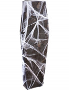 Cercueil avec toile d'araignée 160 cm Halloween