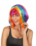 Vous aimerez aussi : Perruque carré multicolore avec frange femme