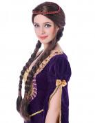 Perruque médiévale femme