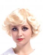 Perruque blonde vintage femme