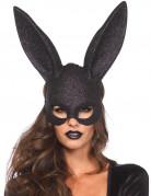 Vous aimerez aussi : Masque lapin noir pailleté adulte