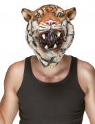 Masque latex tigre adulte