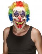 Masque latex clown adulte